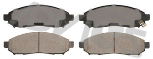 Disc Brake Pad Set-Ultra-premium Oe Replacement Front ADVICS AD1548