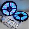 10M 2x5M 3528 5050 RGB 600LEDs LED Strip Lights Lamp 44Key IR remote Controller
