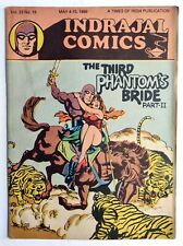Rare Indrajal Comics PHANTOM PHIL Third Phantoms Bride-2 V23 N18 India English