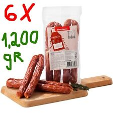 6 Packs 1,200 gr / 42 oz  Portuguese PORK SAUSAGE(LINGUIÇA) / Ideal for barbecue