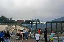 Original Photograph: Southern Pacific 2472 at Gaviota Pier, Gaviota, CA
