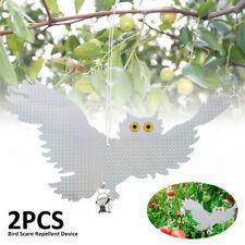 Dissuasore controllo parassiti gufo repellente per uccelli riflettente giardino