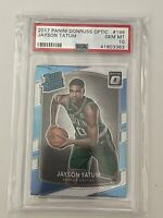 Jayson Tatum 2017 Panini Donruss Optic #198 GEM MINT PSA 10 Rookie RC Celtics