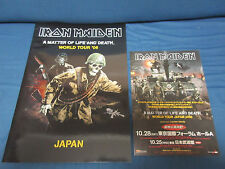 Iron Maiden Matter of Life 2006 Japan Tour Book w Flyer Concert Program NWOBHM