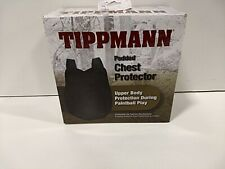 Tippmann Padded Chest Protector, Protective Vest, Black, One-Size