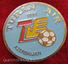 BG4431 - INSIGNE TURAN AIR 1999 AZERBAIDJAN  FOOTBALL