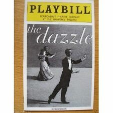 New Playbill The Dazzle Peter Frechette Reg Rogers Francie Swift 2002 Rounabout