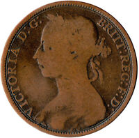 1891 ONE PENNY OF QUEEN VICTORIA      #WT3294