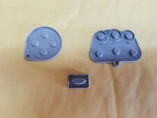 Sega Saturn Controller Repair Kit Part Replacement Silicon Conductive Pads D16