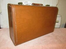 "Vintage Maximillian Masonite 21"" Brown Hard Side Suitcase"