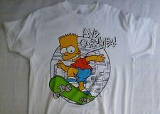 The Simpsons  Mens Size Medium  BART Aye Carumba Tee Shirt New W/Tags SkateBoard