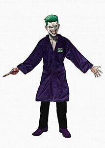 DC Comics The Joker Suicide Squad Fleece Dressing Gown Bathrobe