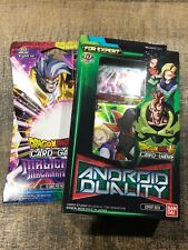 Dragon Ball Super Card Game Android Duality Expert Deck XD02 Bandai & Booster