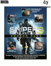 Sniper Ghost Warrior 3 Season pass Steam Download Key Digital Code [FR] [UE] PC
