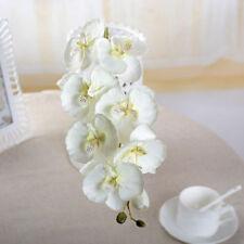 Hot Sale Butterfly Orchid Silk Flower Bouquet Phalaenopsis Wedding Home Decor