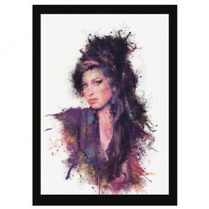AMY 'Song in My Soul' Black Framed Print Signed by Daniel Mernagh