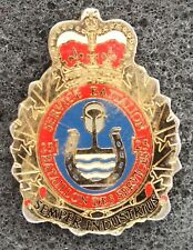 23rd BATAILLON DES SERVICES MILITARY BADGE PIN. UK DISPATCH.