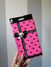 Calze Collant PAMELA MANN Pois Fuxia Pink Polka Dot Tights One Size TU