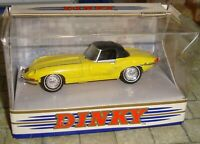 MATCHBOX - DINKY COLLECTION - 1967 JAGUAR E TYPE MK 1.5 - YELLOW - 1:43 - DY-1B