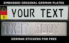 Germany Flag Number Plate German License Plate Euro Custom Personalized