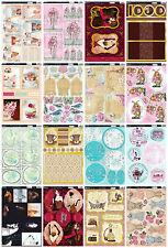 Female themed card kit - Kanban die cut paper craft toppers cardmaking, ladies