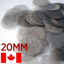500 pipe screens 20mm Stainless Steel Hookah Pipe Screen Tobacco Smoking Mesh