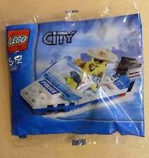 LEGO City 30017 POLICE BOAT CON PERSONAGGIO polizia polizia barca BARCA MOTORE BARCA NUOVO OVP