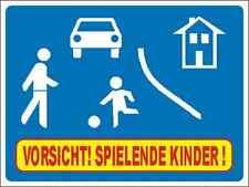 Achtung Kinder Verkehrsberuhigte Zone Spielstraße