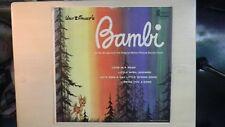 "Disneyland Records Original Sound Track ""BAMBI"" LP"