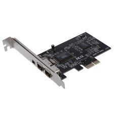 PCI Express x1 PCI-E 1394a FireWire IEEE 1394 Controlador de tarjeta de 3 p D1X1