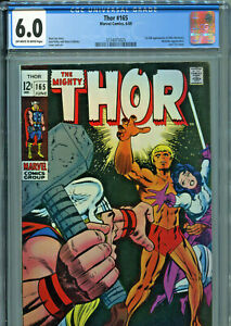 The Mighty Thor #165 (Marvel 1969) CGC 6.0