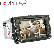 "7""2DIN Auto Lettore DVD Touch Screen CD LCD AUX USB GPS BT IPod Games Volkswagen"