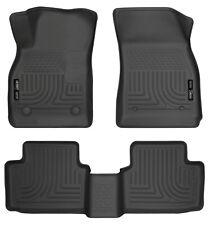 Husky Liners 52601 Black 2nd Seat Floor Liner Fits 16-18 Chevrolet Malibu