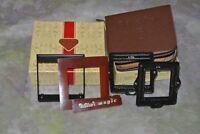 Rollei Rolleiflex F&H Maskensatz 16 Masking Set Conversion Kit with Case and Box