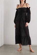SLEEPING WITH JACQUES Bronte Silk Chiffon Nightdress £455 Brand New 8 / S
