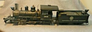 """1:20.3 BACHMANN Spectrum 2-8-0 Consolidation """"Connie"""" with Aftermarket Gearbox"""