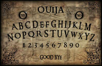 Framed Print - Vintage Ouija Board (Picture Gothic Art Ghost Magic Death Dead)