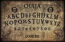 Incorniciato stampa-VINTAGE OUIJA BOARD (immagine arte gotica GHOST MAGIC MORTE DEAD)
