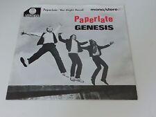 Genesis Paperlate Vertigo small swirl label Holland 7 Inch