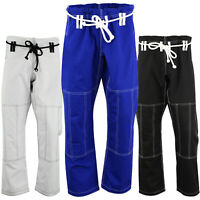 ROAR BJJ Jiu Jitsu Gi Pants MMA Grappling Suit Fight Kimono Pants 100% Cotton