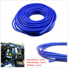 ID 6mm OD 10mm 2mm Thickness Silicone Vacuum Tube Hose Silicone Tubing 16.4ft 5M