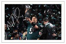NICK FOLES PHILADELPHIA EAGLES SIGNED PHOTO AUTOGRAPH PRINT NFL SUPERBOWL