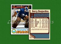 Gerry Desjardins - Buffalo Sabres - Custom Hockey Card  - 1976-77