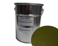 3 Liter Water Based Spray-Ready Chrysler Lgh Commando Green Car Paint Tuning New