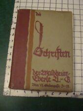 Original Vintage 1920's TYPEFACE CATALOG -- SCHEIFTEN -- 100+ pages, DESIGN #3