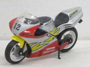 Motorrad Motors World Challenge Nr.12 in rot/silber, ohne OVP, Dickie, 1:18