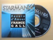 FRANCE GALL : BESOIN D'AMOUR (STARMANIA) [ CD SINGLE ]