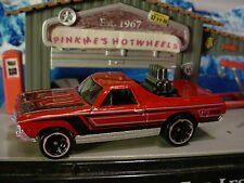 2016 Hot Wheels '68 EL CAMINO☆Burnt Red Chevy; mc5☆Multi Pack Exclusive?☆LOOSE