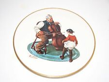 THE NORMAN ROCKWELL PLATE COLLECTION LIMITED EDITION 1978 GRANDPA GIRL, GORHAM