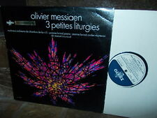 MESSIAEN: 3 petites liturgies   Loriod Couraud / Erato blue label stereo France